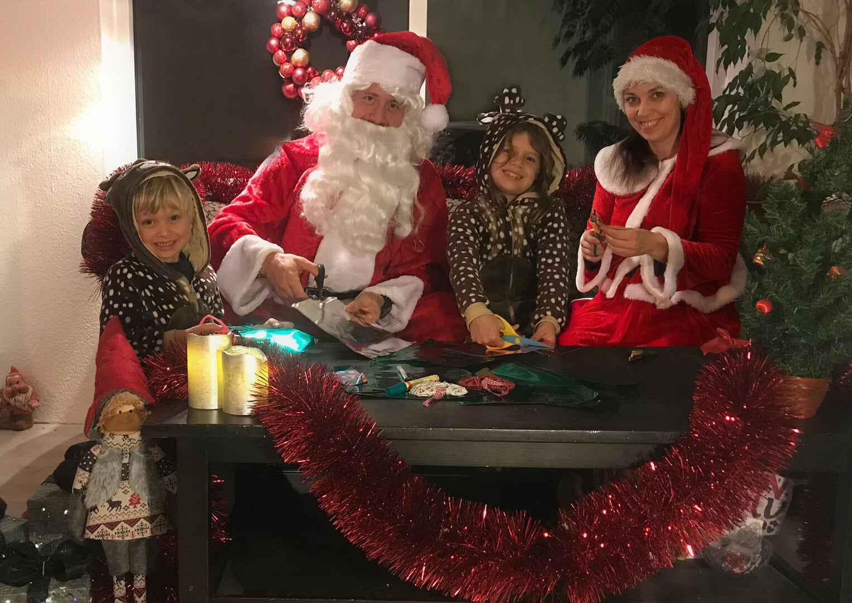 julestue, juleteater og julekonkurrence